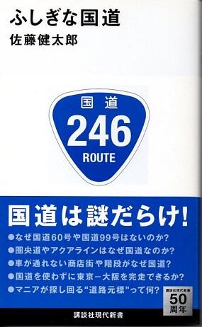 ふしぎな国道 (講談社現代新書 2282)