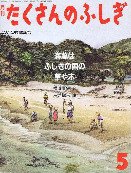 海藻はふしぎの国の草や木 たくさんのふしぎ 通巻62号 (1990年5月号)