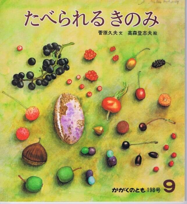 たべられるきのみ かがくのとも 通巻198号 (1985年9月号)