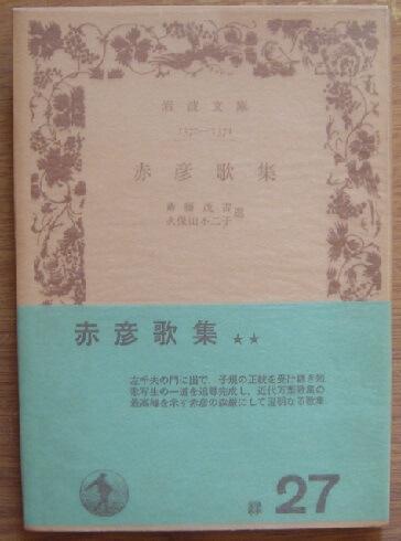 赤彦歌集 (岩波文庫)