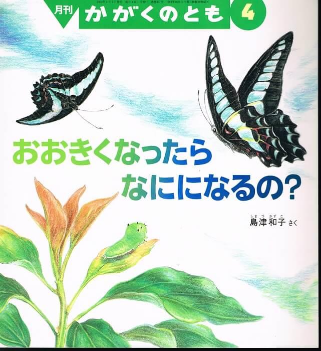おおきくなったら なにになるの? かがくのとも 通巻397号 (2002年4月号) ※折り込みふろくあり