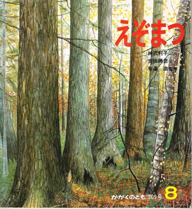 えぞまつ かがくのとも 通巻209号 (1986年8月号)